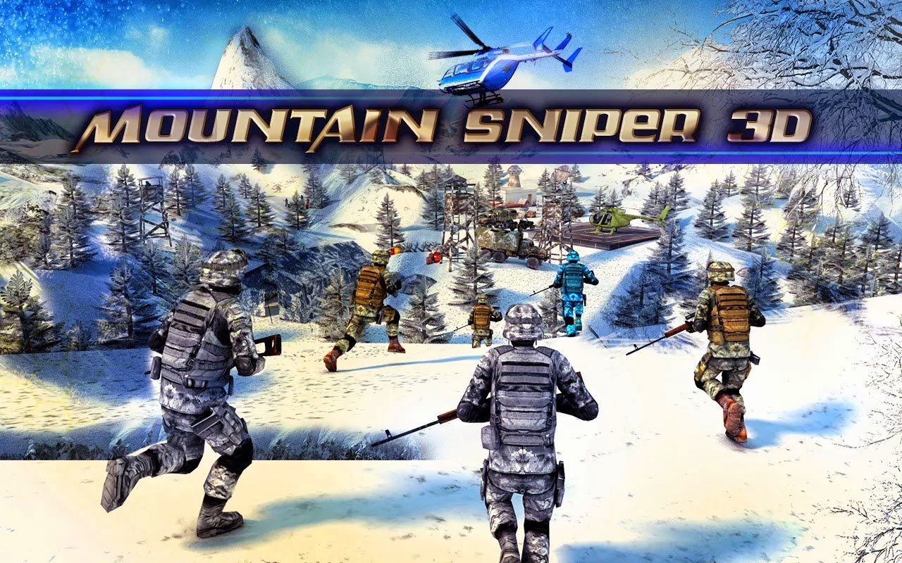 Mountain Sniper Killer 3D FPS v1.1 APK MOD