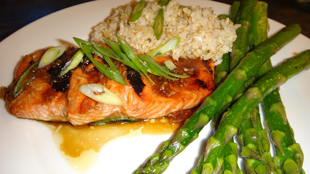 I want to cook that: Grilled Teriyaki Salmon