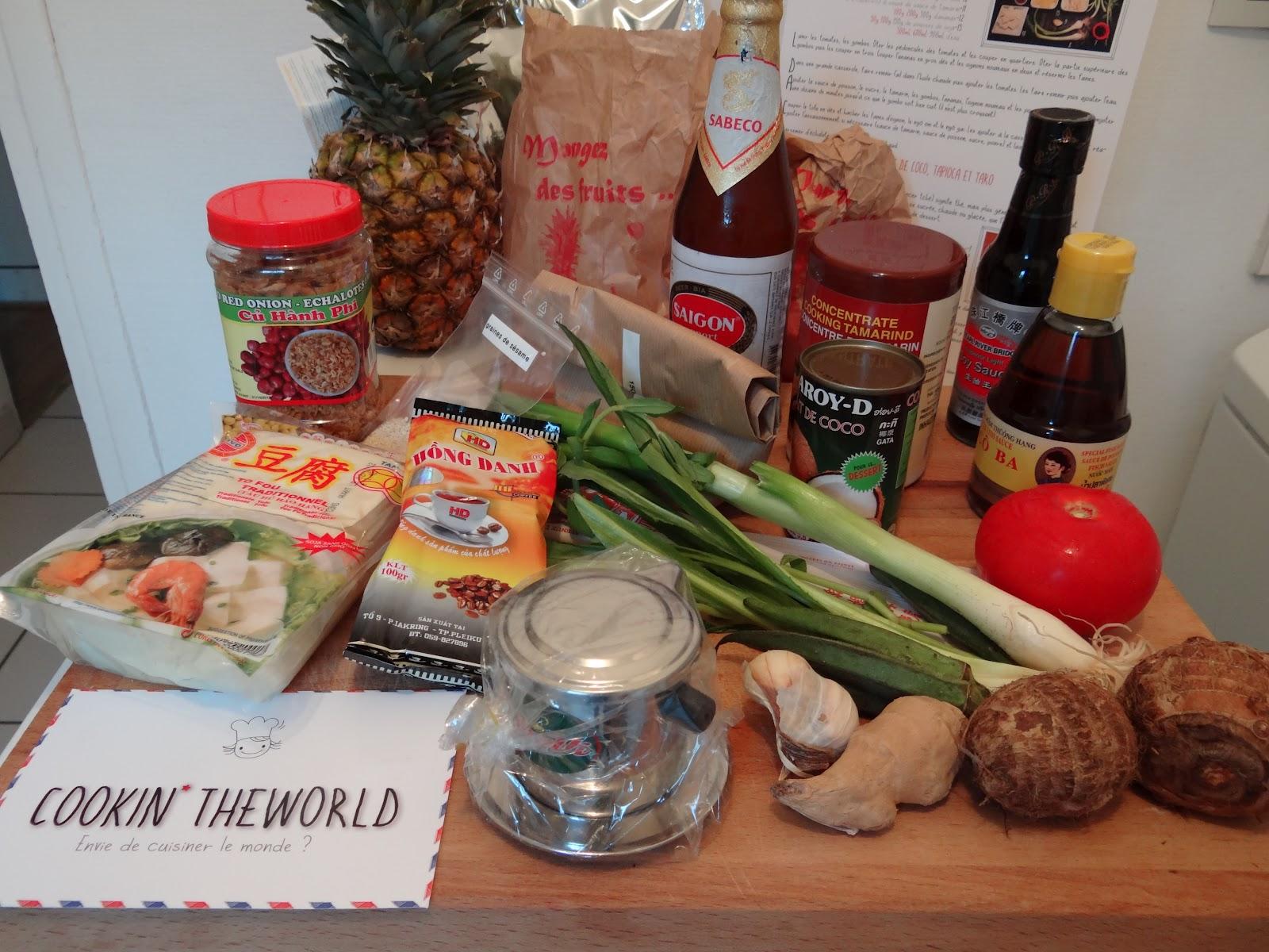 Panier Cuisine Du Monde Livr Domicile Cookin The