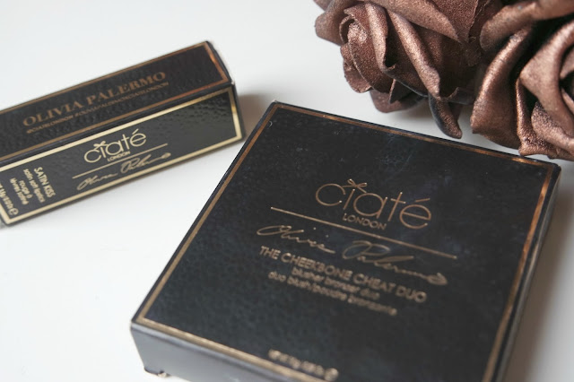 Ciate London: Olivia Palermo Makeup Range: Lipstick in Cashmere and Cheekbone Duo in Bluff Point Review