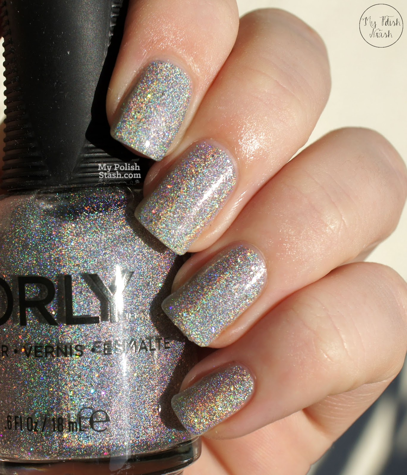 My Polish Stash: [Swatch & Review] Orly - Mirrorball