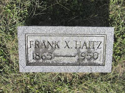 Frank X Haitz, Lottie Sullivan, Maplewood Cemetery, Ripley, Ohio