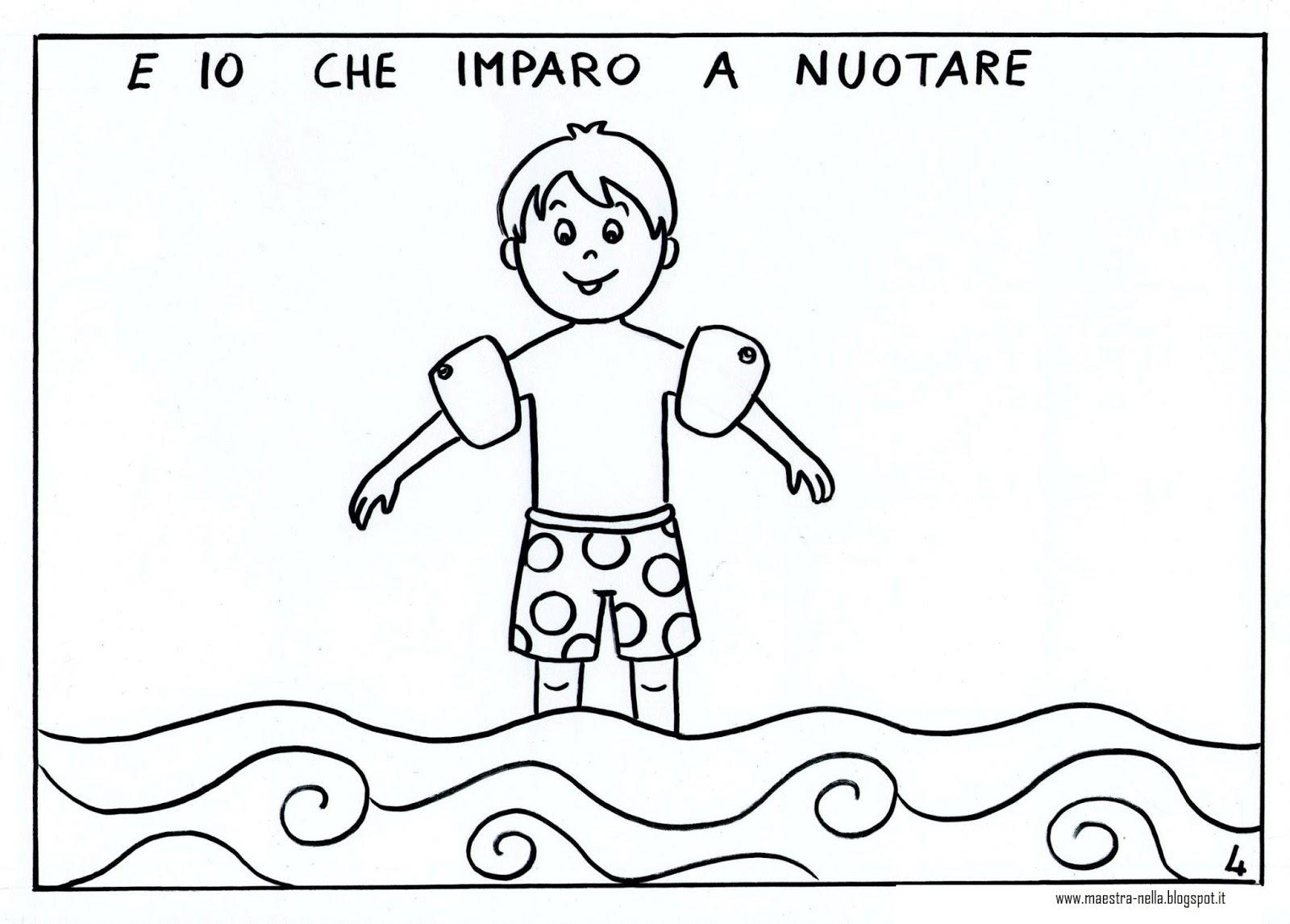 Amato maestra Nella: libricino 'ciao estate vado a scuola!' IV45