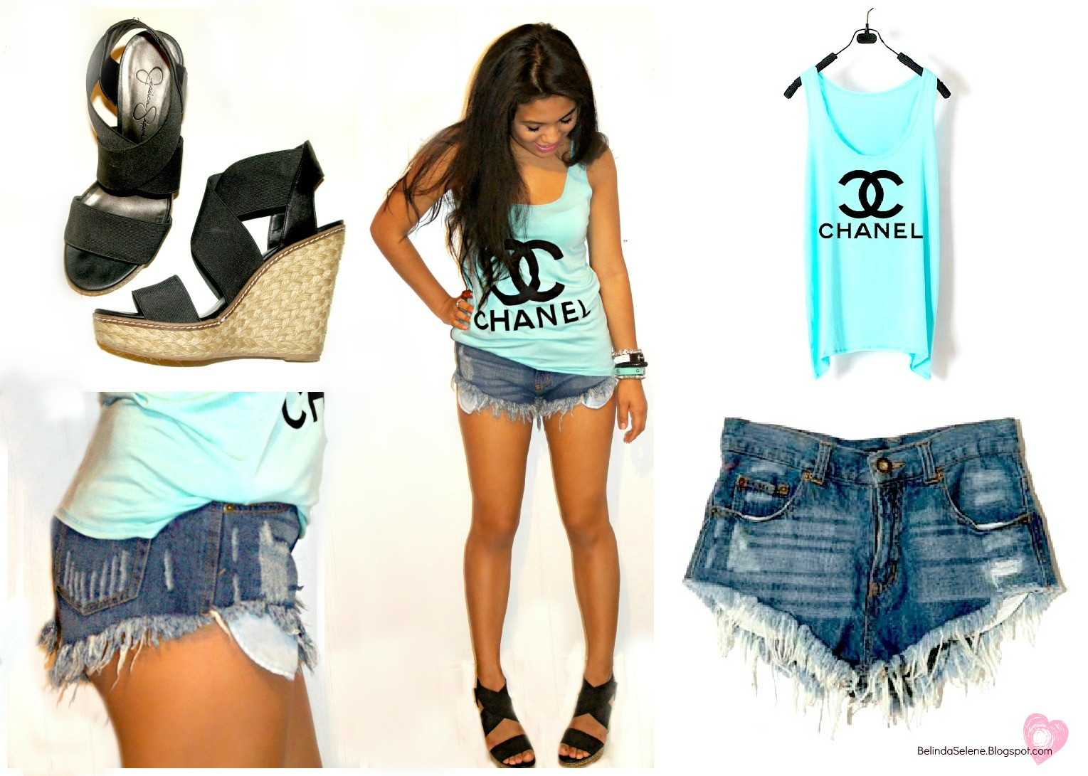 Belindaselene my style chanel logo shirt and high for Chanel logo t shirt to buy