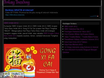 Template Blog Bolay Tomboy