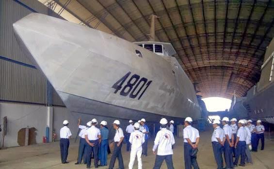 PT PAL Mulai Membangun Kapal Perusak Kawal Rudal 105 meter Pesanan TNI AL