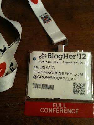 BlogHer conference pass