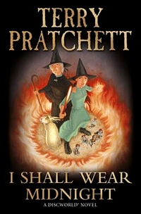 "Cover of ""I Shall Wear Midnight"", a novel by  Terry Pratchett"