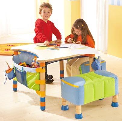 Originales mesas y escritorios para ni os de decoiluzion - Mesas escritorio para ninos ...