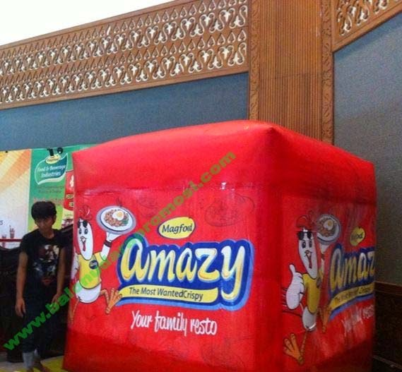 BALON KOTAK INDOOR AMAZY