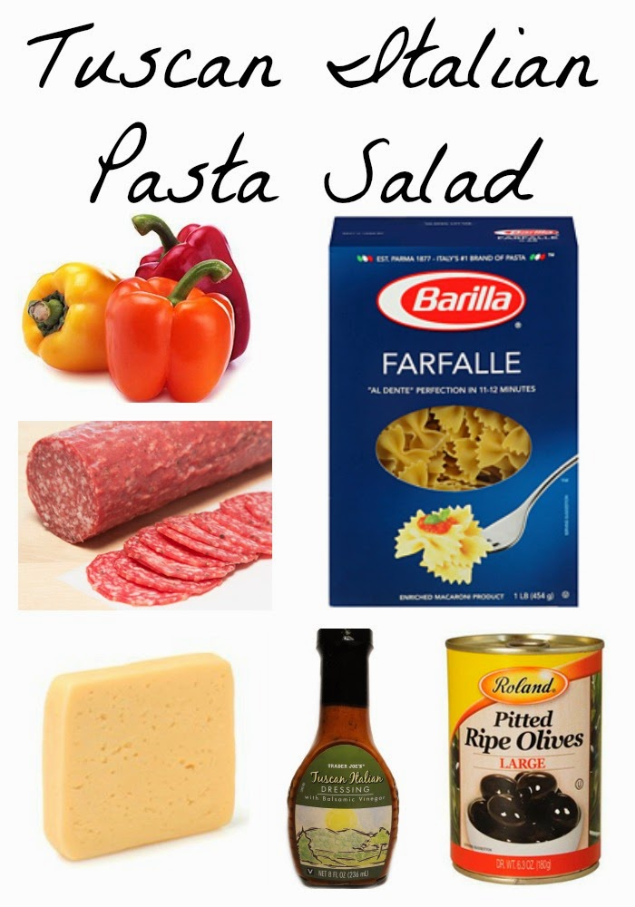 Tuscan Italian Pasta Salad || The Chirping Moms