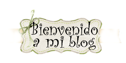 bienvenido a mi blog