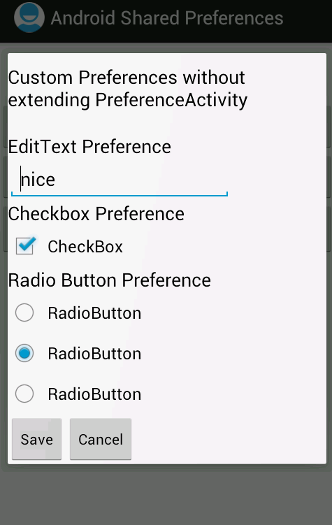 Saving Apps Data In Android Using SharedPreferences - NPLIX