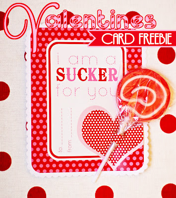 valentine+sucker+for+you7 10 handmade Valentine cards for kids