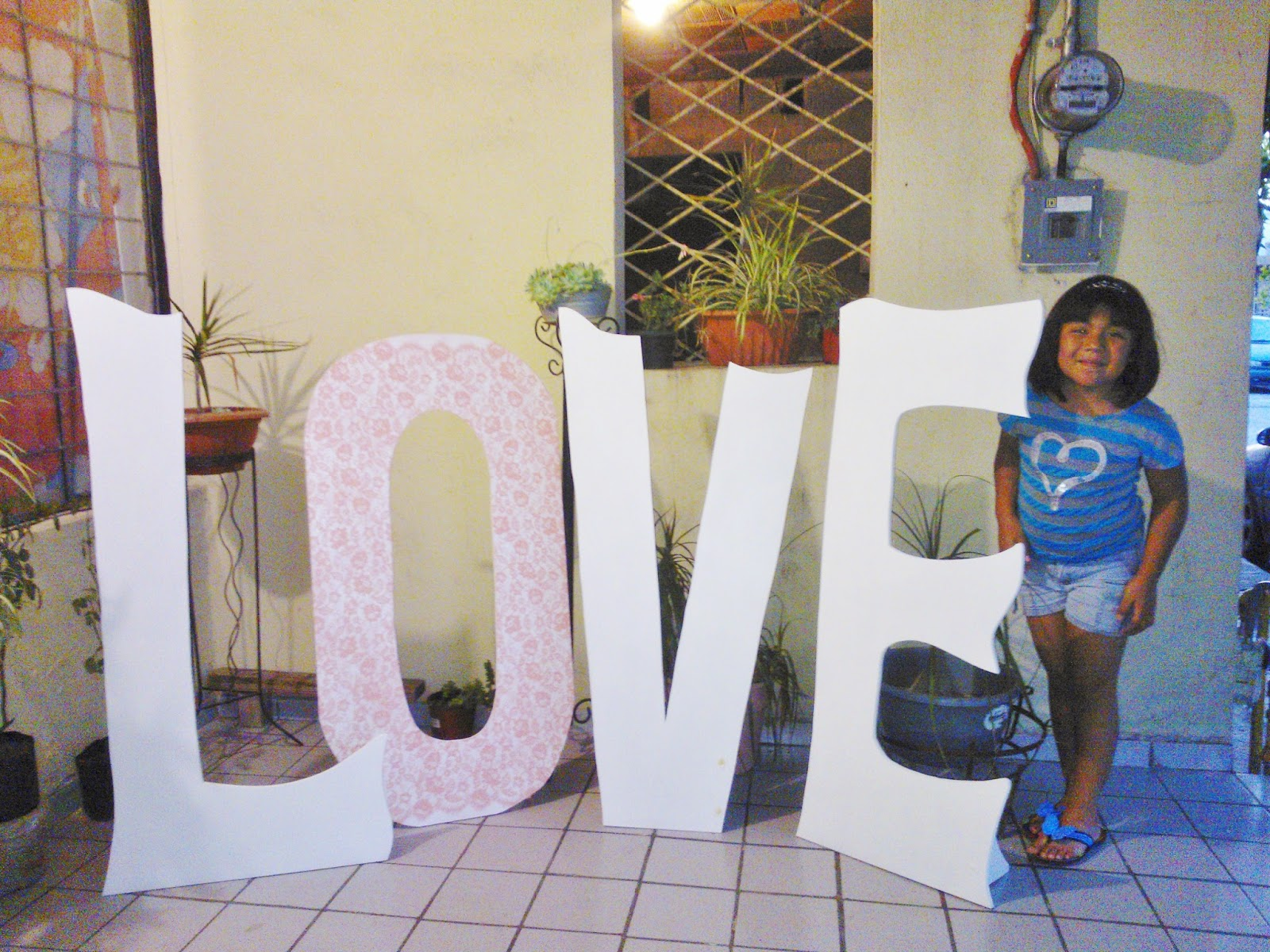 Murales infantiles letras grandes de madera - Murales de madera ...