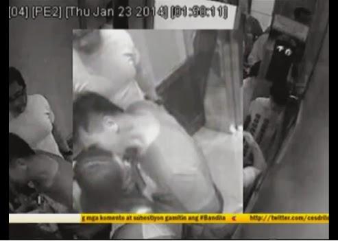 Cedric Lee kisses Deniece Cornejo on new CCTV video