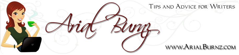 Arial Burnz - My Blog of Tips & Advice for Writers
