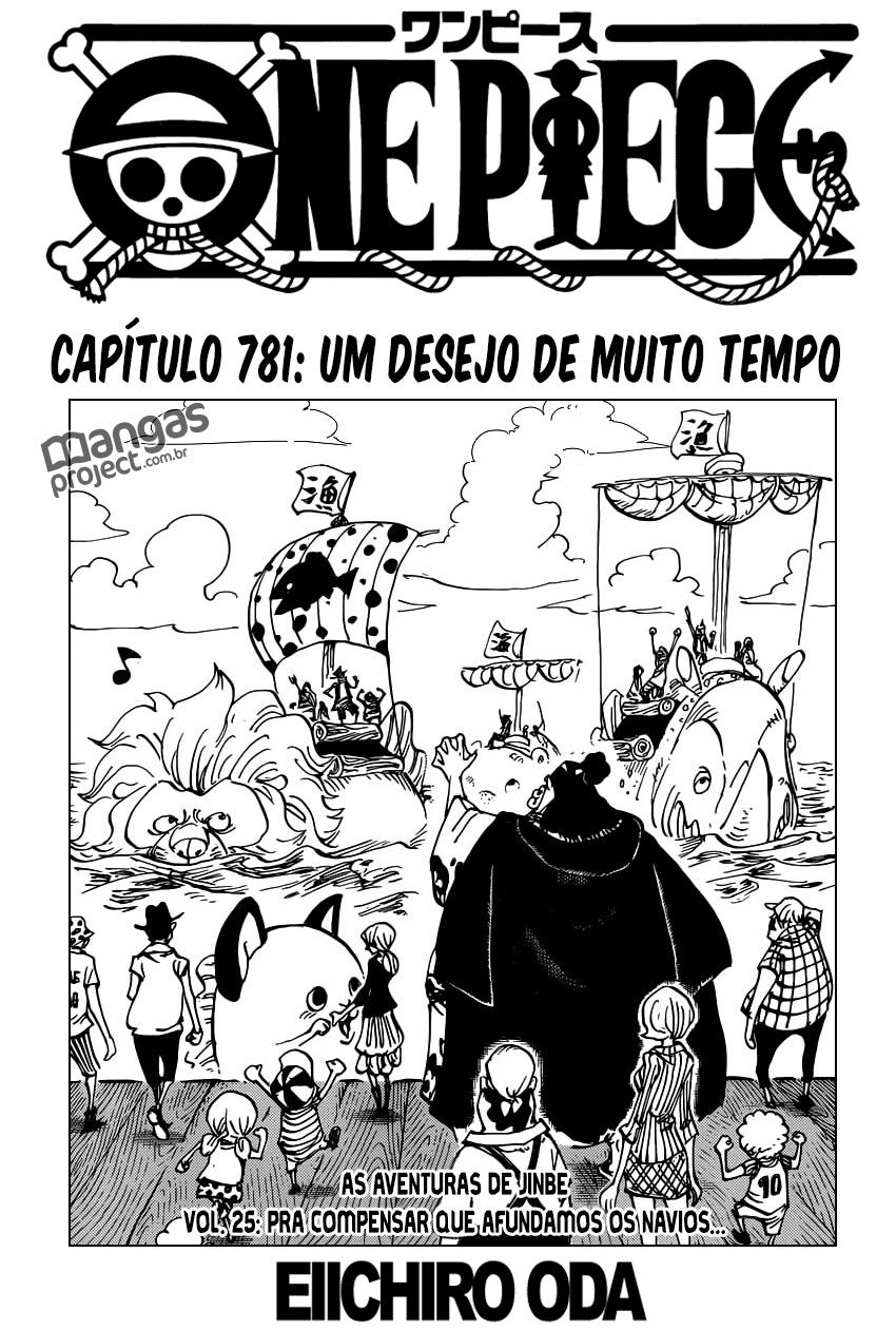 One Piece 781 Mangá Português leitura online