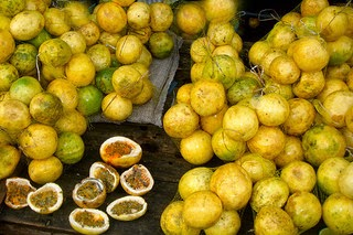 The yellow passion fruit is one of Kenya's top three export fruit crops
