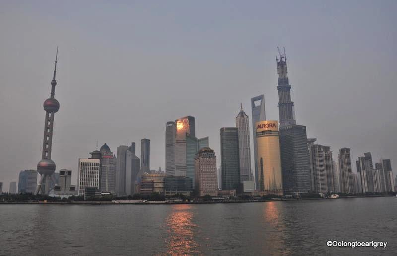 Shanghai Skyline August 2013