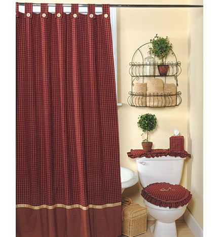 Taller de decoraci n textil modelos cortinas y cenefas de - Modelos de decoracion de banos ...