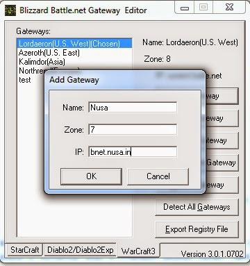 Cara Setting IP Bnet DotA Dan Download BNGatewayEditor