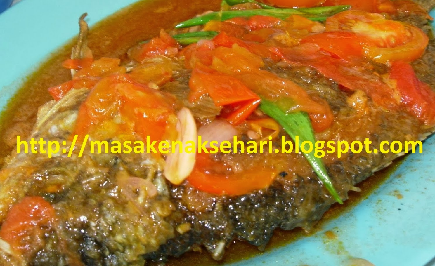 Resep Ikan Gurame Tiga Rasa Sederhana Aneka Masakan