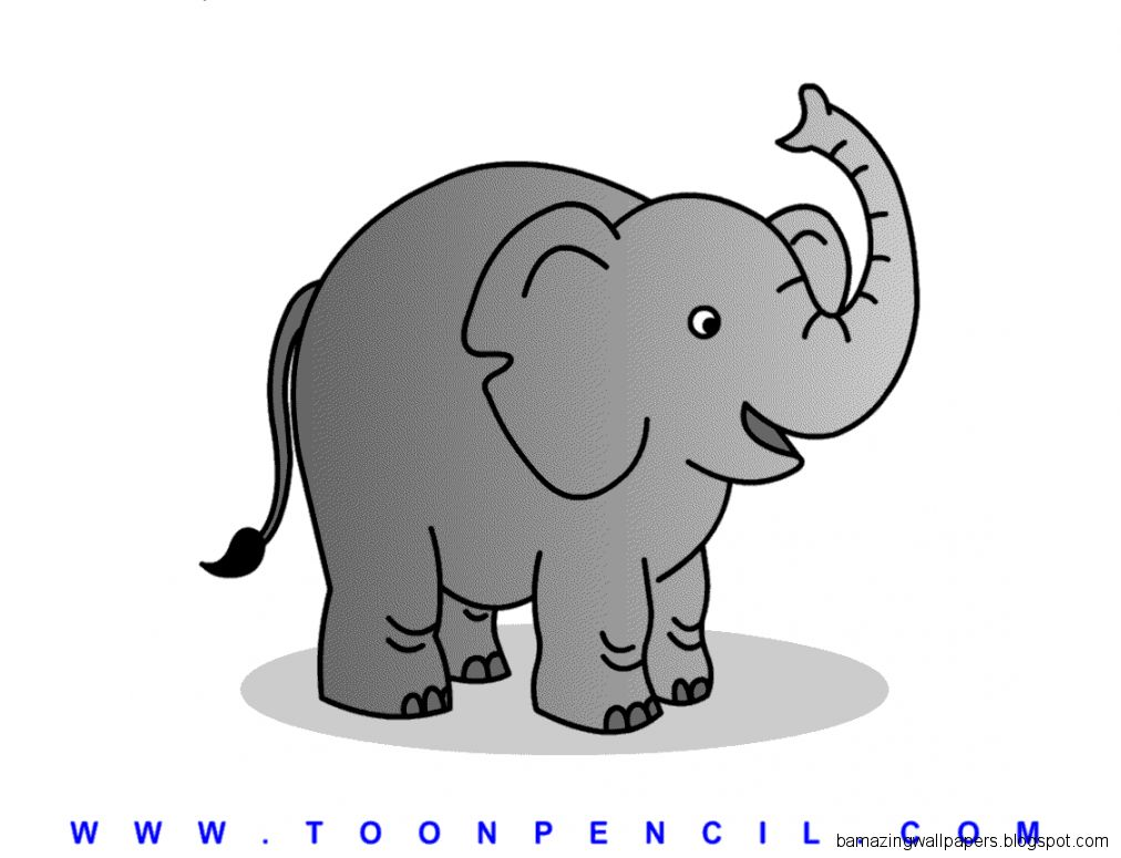how to draw a elephant step by step for kids