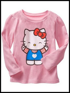 GAP LONGSLEEVE COLLECTIONS FOR GIRLS ADDED NEW DESIGN 10th JULY