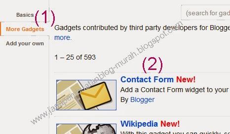 kontak form blogger