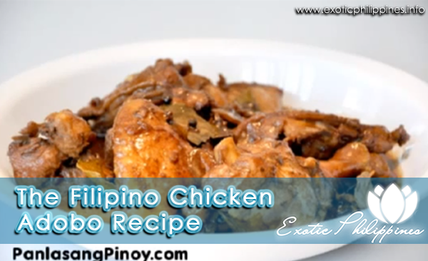 The Filipino Chicken Adobo Recipe