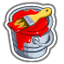 viral bullthemepartnermechanic paint buckets red 64x64 - CityVille: Materiais dos edifícios dos touros