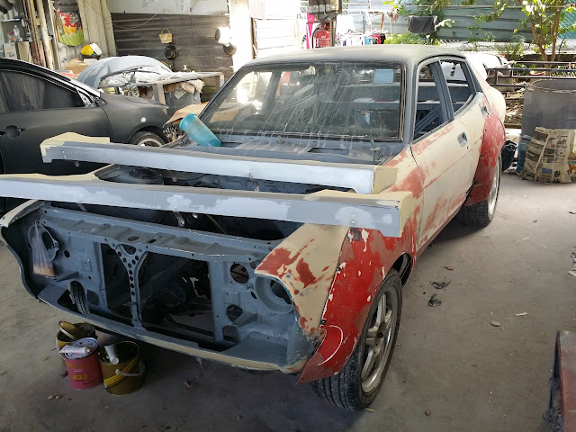 A Datsun Turbo Violet from 1974: Restoring the Datsun 120Y ...