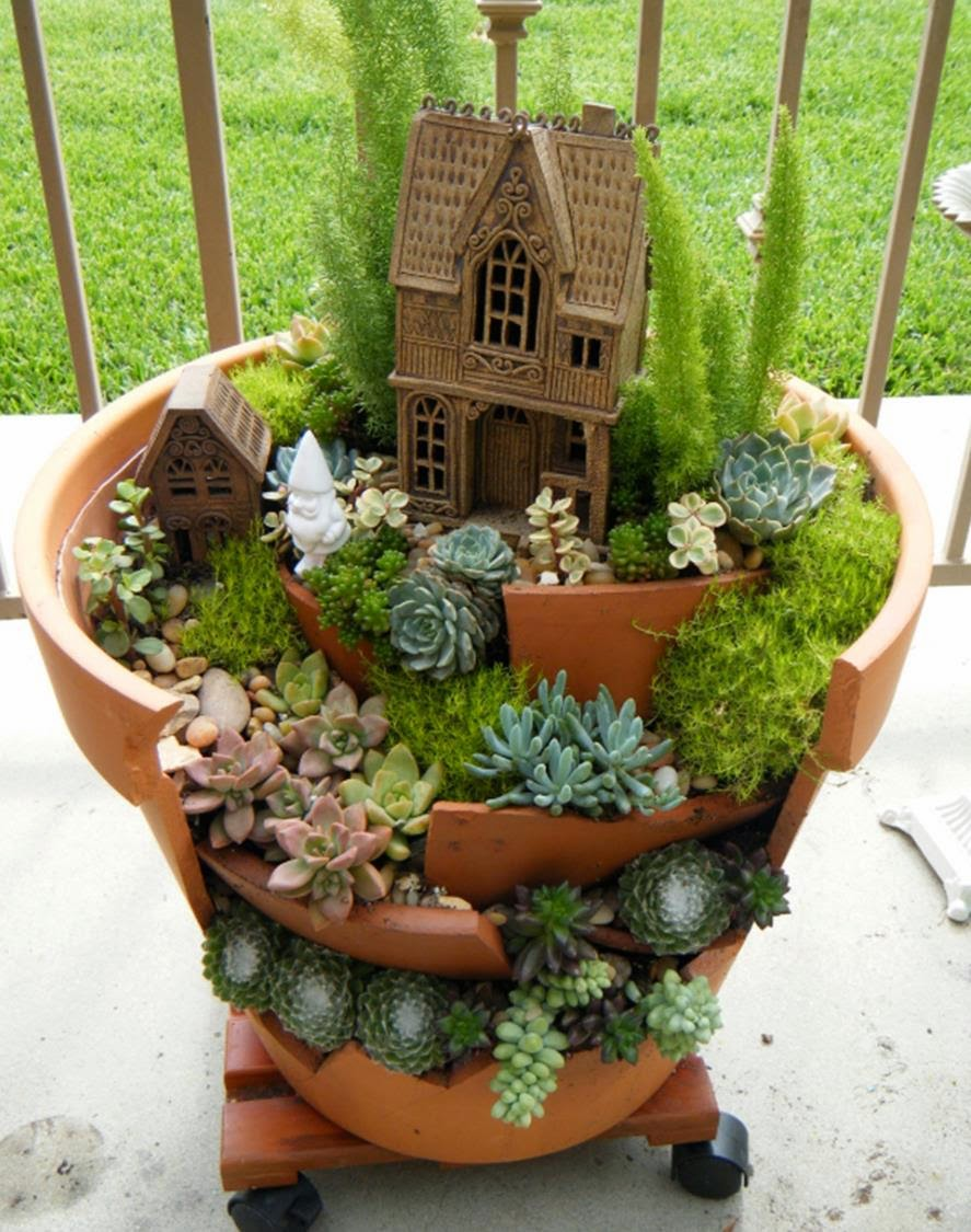 I dig Gardeming | Fairy Garden | Completed