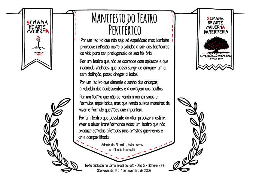 Manifesto do Teatro Periférico