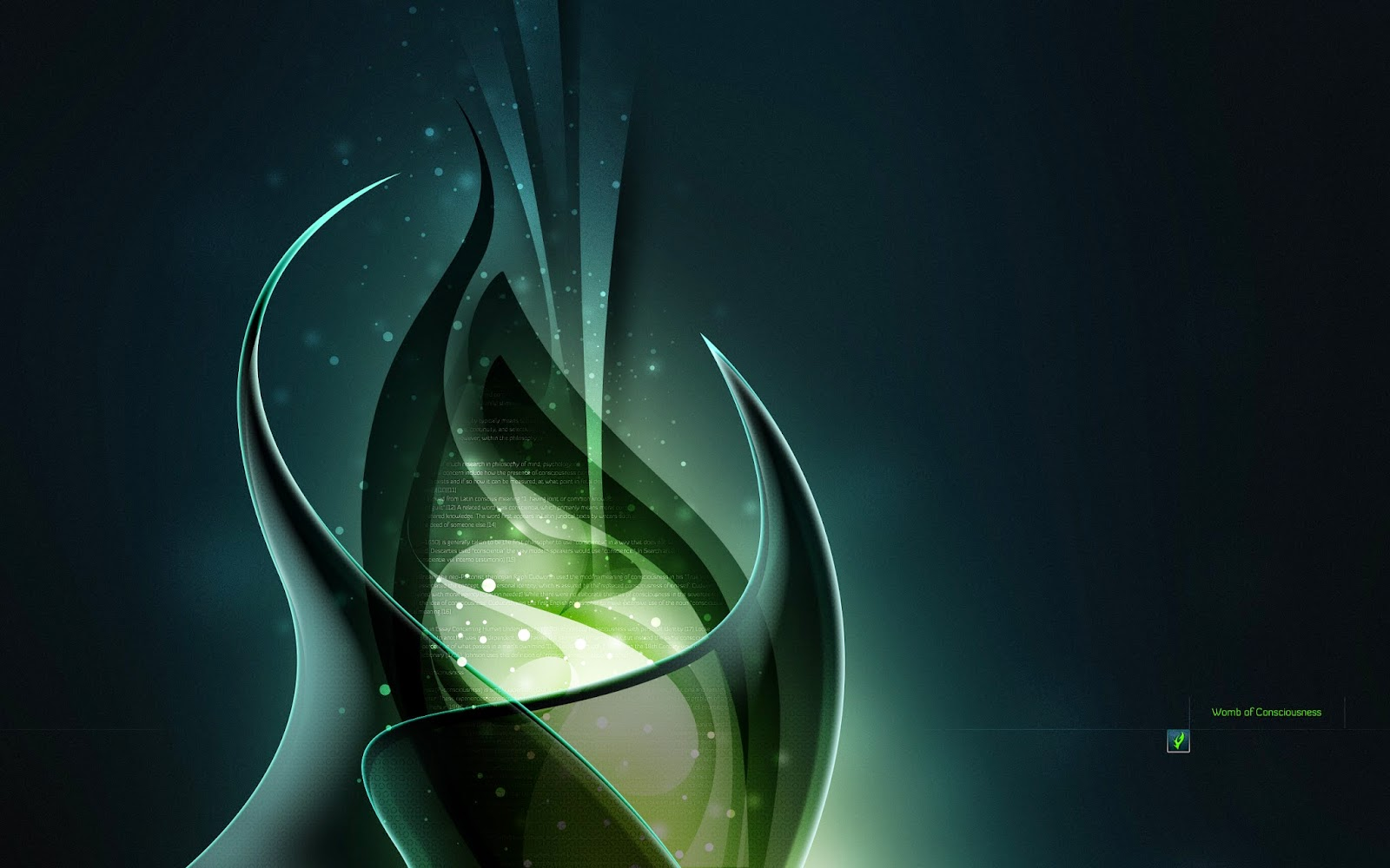 Green Consciousness Abstract Wallpapers
