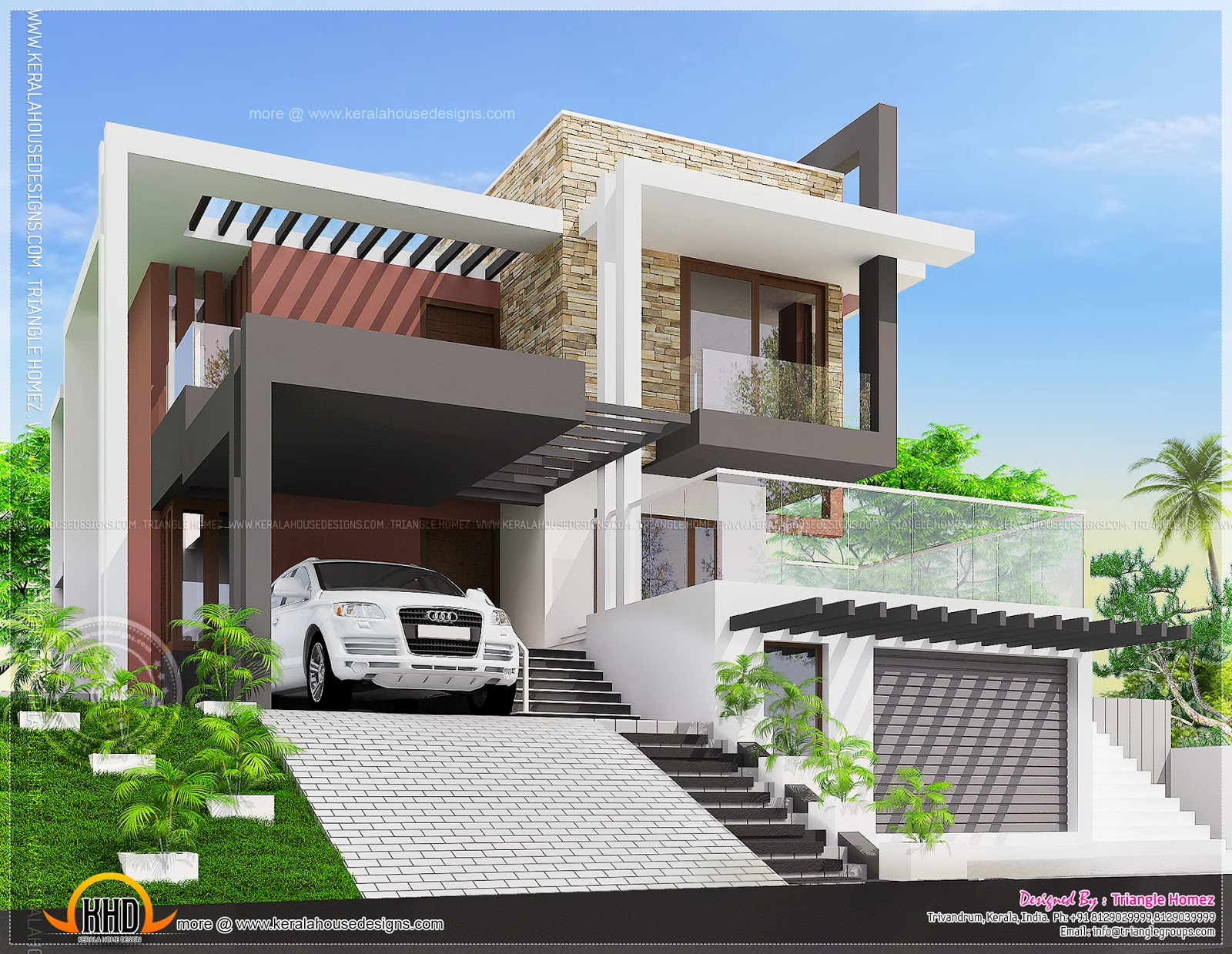 November 2013 kerala home design and floor plans for Executive house plans