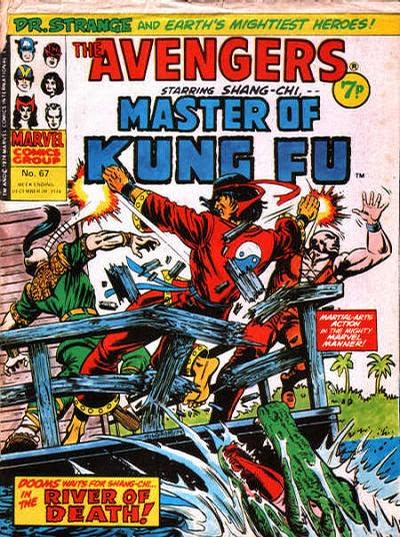 Marvel UK, The Avengers #67, Shang-Chi