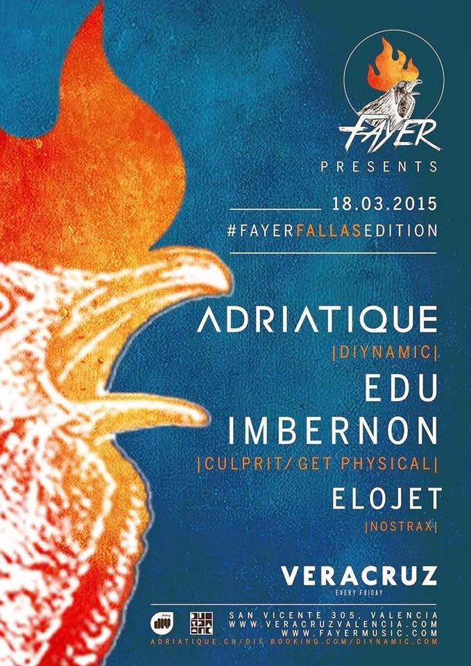 Adriatique @ Fallas 2015