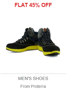 Deal of the Day: Flat 45% Off on Proterra Shoes from Flipkart