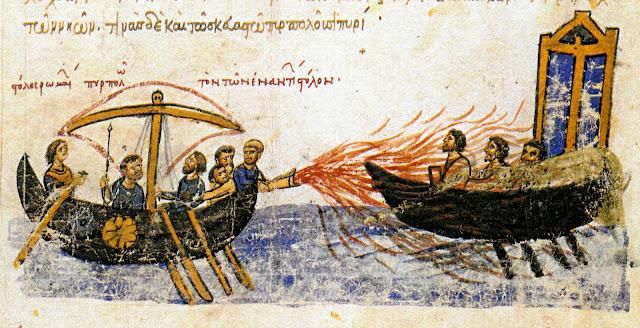 Greek Fire in the Codex Skylitzes Matritensis