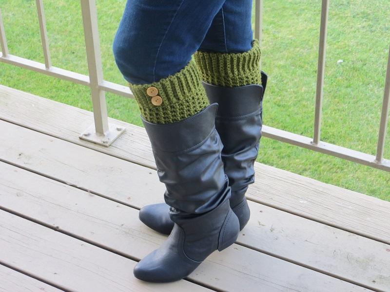 Brooklyn Boot Cuffs Free Crochet Pattern Crochet Dreamz