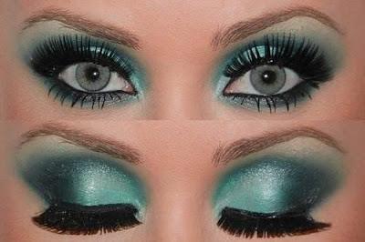 Maquiagem 3D  Verde