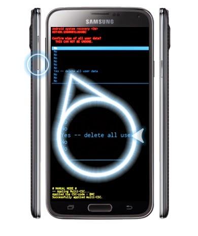 samsung galaxy s5 quitar patron, hard reset samsung galaxy s5