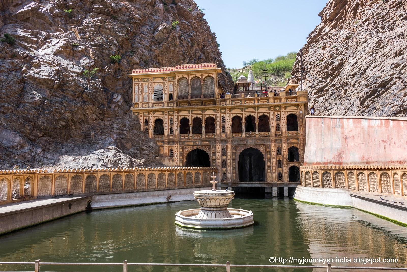 Galtaji Monkey Temple Jaipur