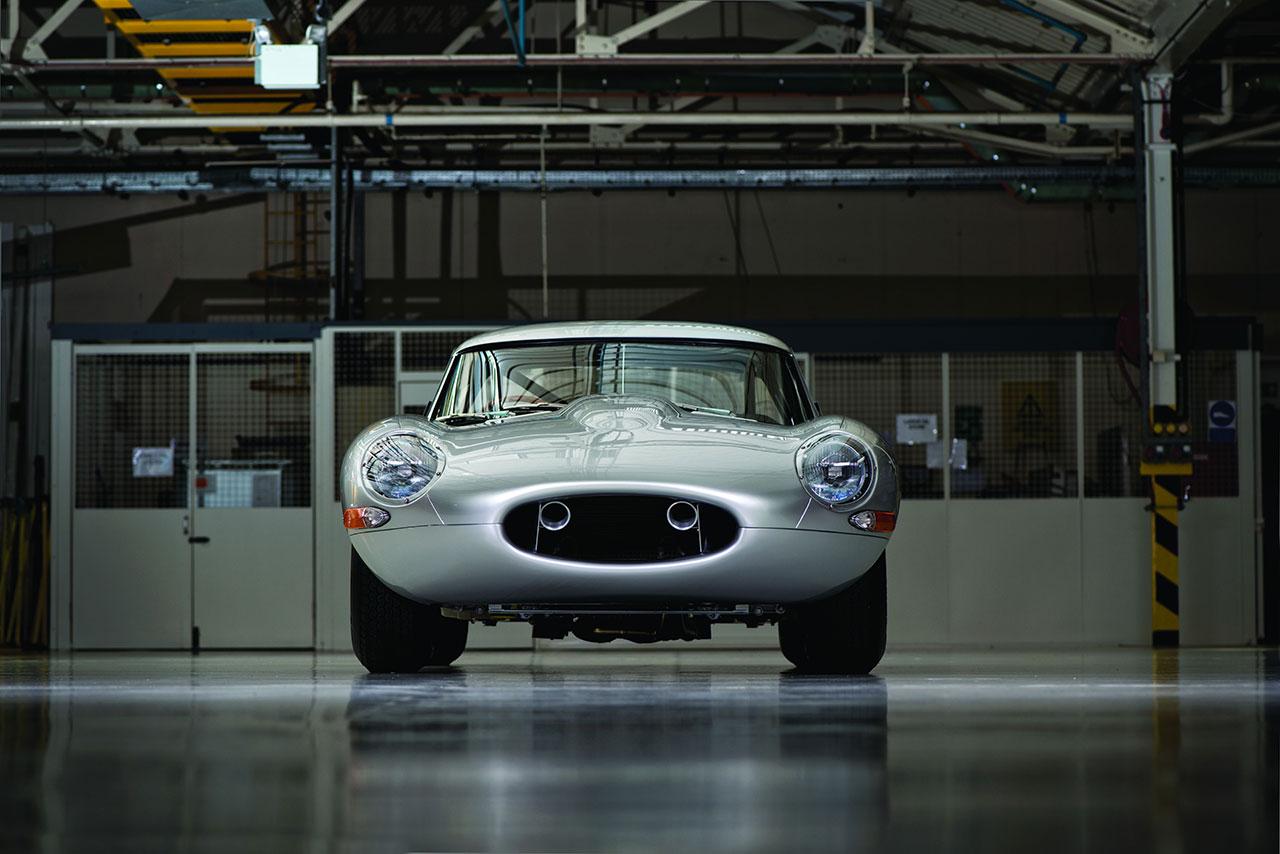 Jaguar Lightweight E-Type front