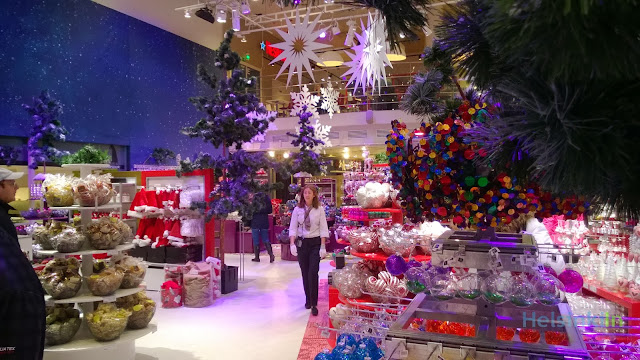 Christmas department at Stockmann