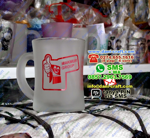 souvenir gelas dove promosi