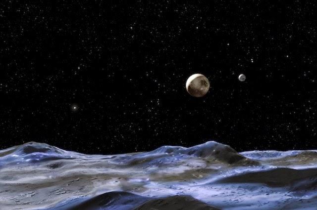 Ada Samudra di Charon, Satelit Alami Terbesar Pluto