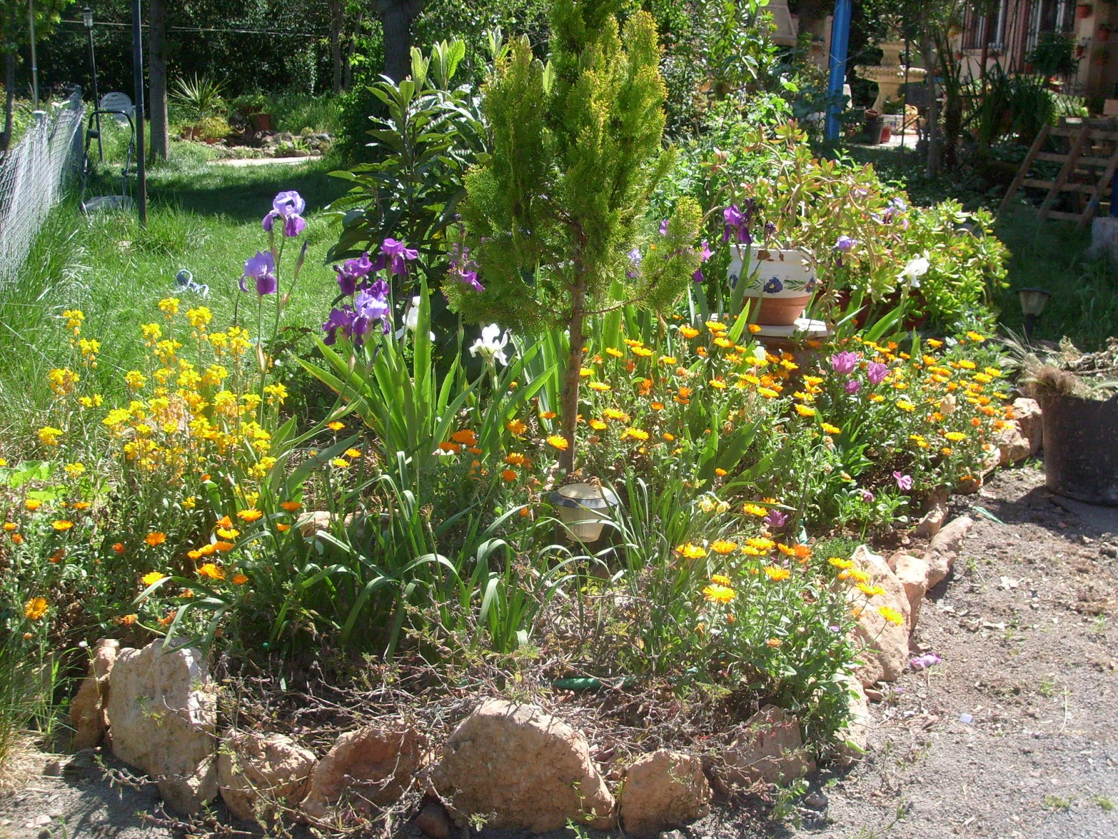 Jard n reciclaje y m s rincones for Arreglar un jardin